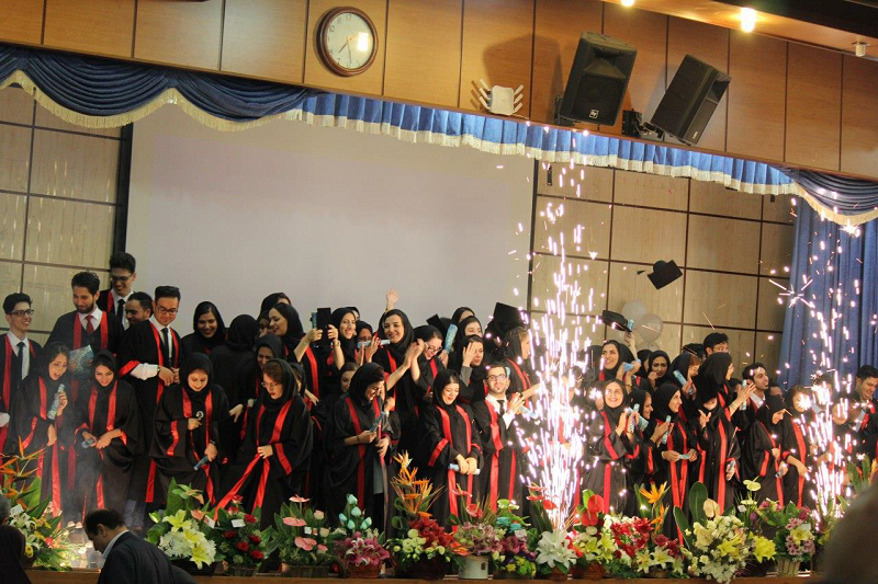 School of Allied Medical Sciences, Mazandaran University of Medical sciences celebrates Graduation Ceremony.